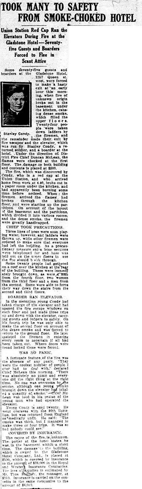 tely 1918-01-17 gladstone fire