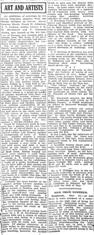 globe 1920-05-11 group of seven opening