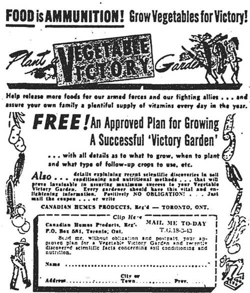 gm 1943-03-18 food is ammunition ad