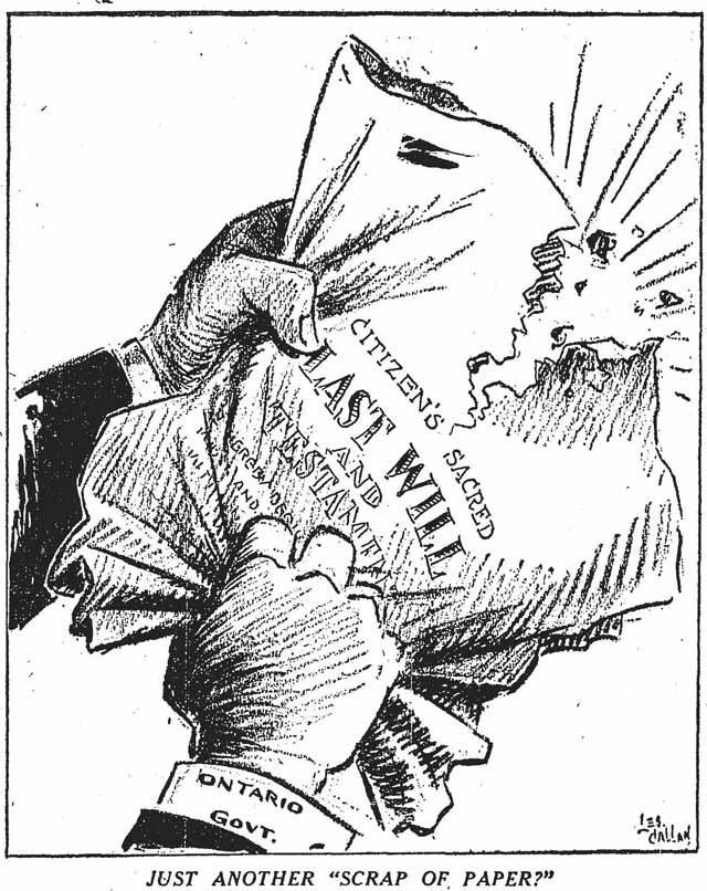 star 1949-03-30 charities bill editorial cartoon