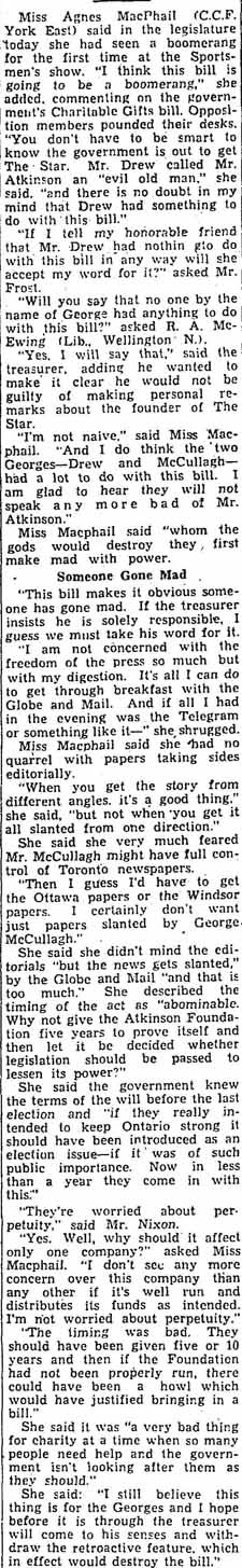 star 1949-04-06 agnes macphail on bill