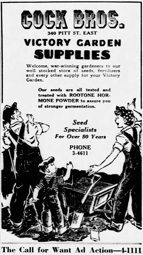 ws 1944-03-18 cock brothers victory garden ad 500