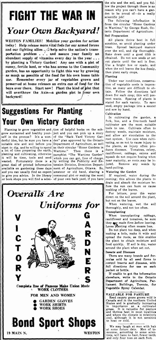wtg 1943-05-20 victory garden tips and overalls ad
