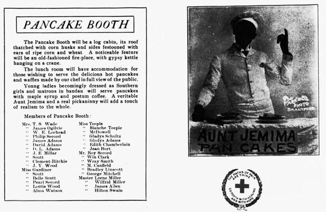 brantford expositor circa 1906 pancake booth