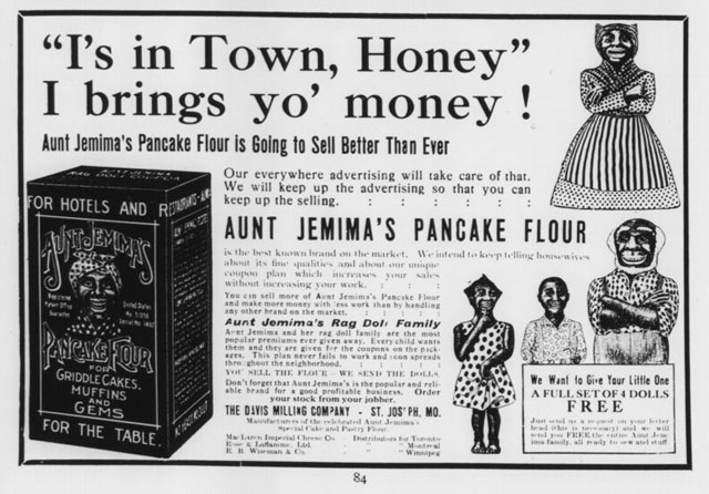 canadian grocer 1909-09-17 aunt jemima premiums ad 640