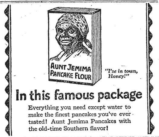globe 1923-10-23 aunt jemima ad