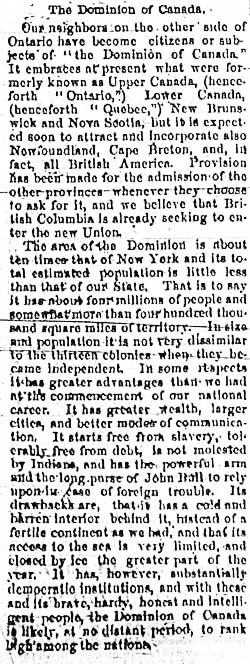 niagara falls gazette 1867-07-03 editorial