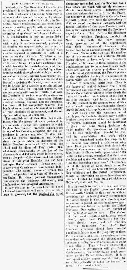 ny tribune 1867-07-02 editorial