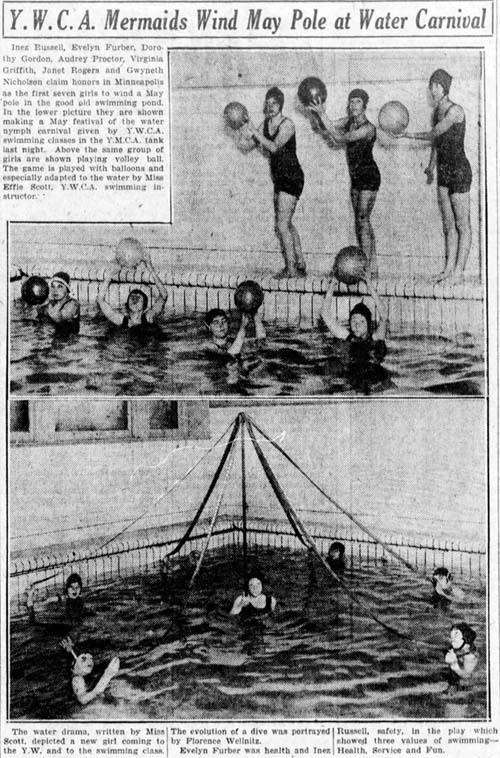 minneapolis star 1925-05-30 water nymphs