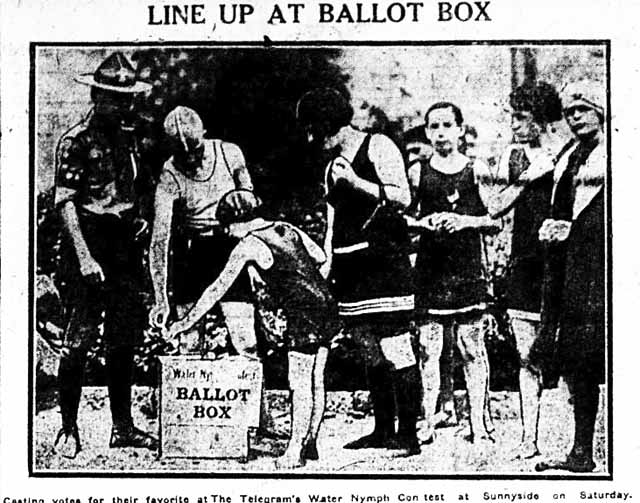 tely 1923-08-21 water nymph contest voting