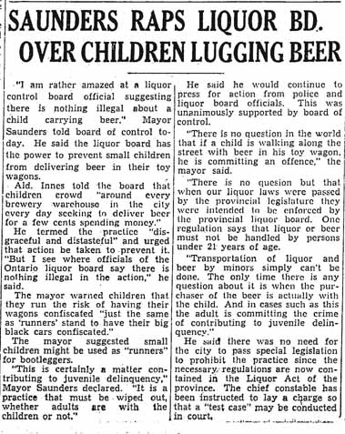 star 1945-08-08 children lugging beer